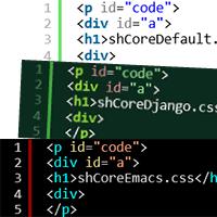 「SyntaxHighlighter」のカスタマイズ