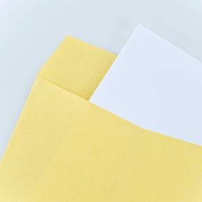 封筒と用紙の種類とサイズ
