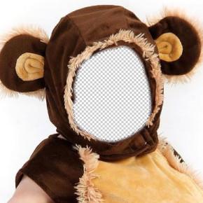 【Photoshop】人物の顔をコラージュ:着ぐるみ編